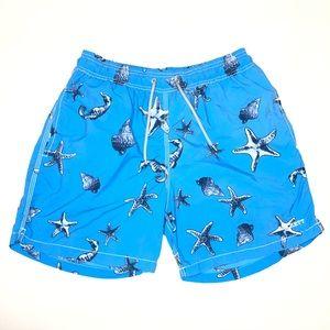 Hackett London Sz S Starfish Board Swim Trunks